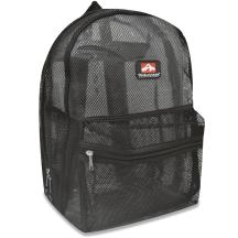 mesh black back pack2