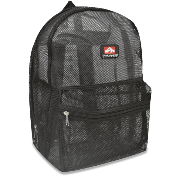 mesh black back pack - Copy